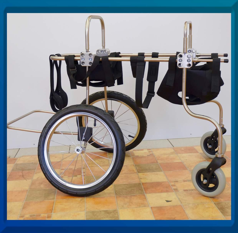 4 Rad Rollwagen für Hunde Pfaff TO